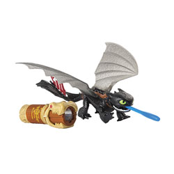 Figurine Dragon et son Dresseur : KrokMou et Oeil de Dragon