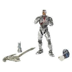 Justice League-Figurine Multiverse Cyborg 15 cm