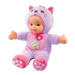 Poupon P'tit bébé déguisé chat - Little Love