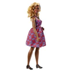 Barbie Fashionistas n°57 robe rayée