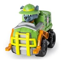 Mini véhicule de secours Pat'Patrouille Rocky chapeau