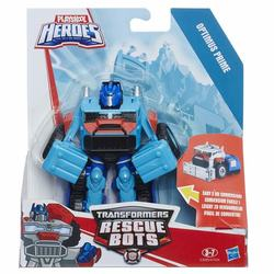 Transformers-Rescue Bots 2 en 1 Optimus Prime