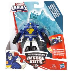 Transformers-Rescue Bots 2 en 1 Chase