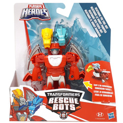 Transformers-Rescue Bots 2 en 1 Heatwave