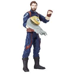 Figurine Captain America Team Suit 15 cm avec pierre d'infinité - Avengers Endgame