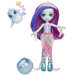 Enchantimals-Poupée cheveux magiques et dauphin
