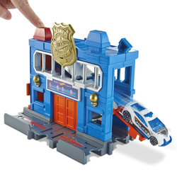 Hot Wheels le poste de Police