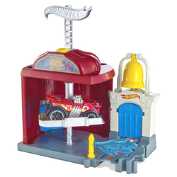 Hot Wheels caserne de Pompiers