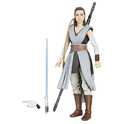 Star Wars-Figurine Black Series Rey 15 cm
