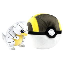 Pokémon-Peluche Zip Sabelette d'Alola