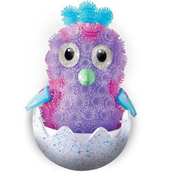 Bunchems oeuf Hatchimals violet