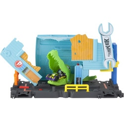 Hot Wheels City-Coffret créature Gator Garage