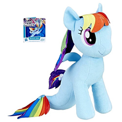 Peluche My Little Pony Movie Rainbow Dash 30 cm