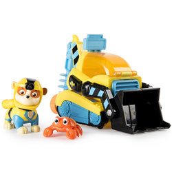 Pat'patrouille-Véhicule et figurine Ruben Sea Patrol