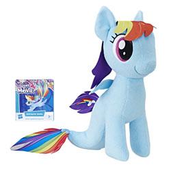 My little pony - Peluche Rainbow Dash sirène