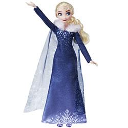 Reine des Neiges-Poupée Joyeuses Fêtes avec Olaf Elsa