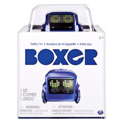 Robot Boxer bleu