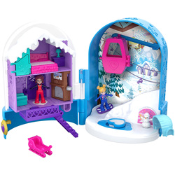 Polly Pocket-Coffret univers neige