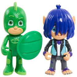 Pyjamasques-Coffret 2 figurines Gekko et Kevin
