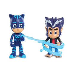 Pyjamasques-Coffret 2 figurines Yoyo et Howler