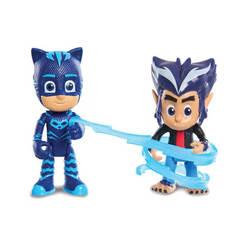 Pyjamasques-Coffret 2 figurines Yoyo et Howler