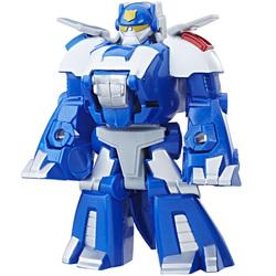 Transformers-Rescue Bots 2 en 1 Chase le dino protecteur