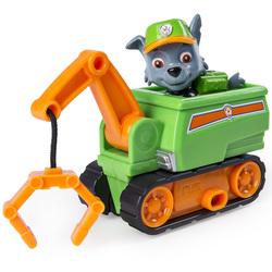 Pat'Patrouille-Mini véhicule avec figurine Rocky Ultimate Rescue