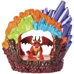 Dragon 3-Pack tanière avec un dragon Rustik