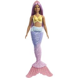 Poupée Barbie sirène Dreamtopia cheveux violets