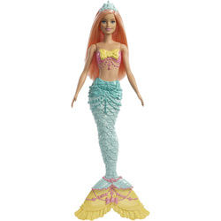 Poupée Barbie sirène Dreamtopia cheveux oranges