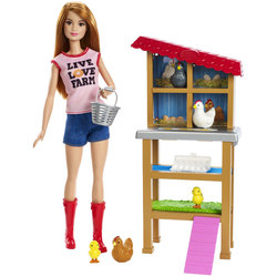 Barbie-Coffret fermière