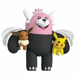 Pokémon-Figurine à fonctions Bewear 12 cm