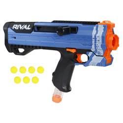 Nerf-Pistolet Nerf Rival Helios XVIII-700 Bleu et billes en mousse Nerf Rival