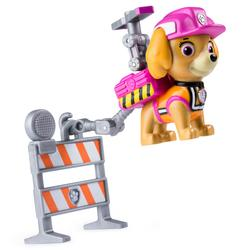 Pat'Patrouille-Figurine sac à dos Ultimate Rescue construction Stella