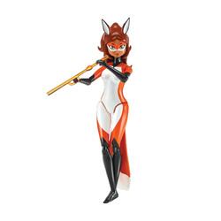 Miraculous figurine Rena Rouge 15 cm