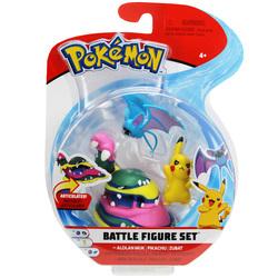 Pokemon-Pack 3 figurines Alolan Muk Pikachu et Zubat