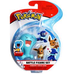 Figurines Pokémon Qulbutoké Evoli et Otarlette