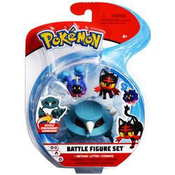 Figurines Pokémon Métang Flamiaou et Cosmog