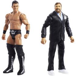 WWE-Coffret de 2 figurines de catch Daniel Bryan et The Miz 15 cm