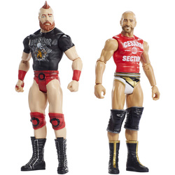 WWE-Coffret de 2 figurines de catch Sheamus et Cesaro 15 cm