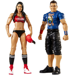 WWE-Coffret de 2 figurines de catch Maryse et The Miz 15 cm