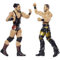 WWE-Coffret de 2 figurines de catch Miztourage 15 cm