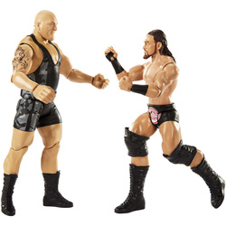 WWE-Coffret de 2 figurines de catch Big Show et Big Cass 15 cm