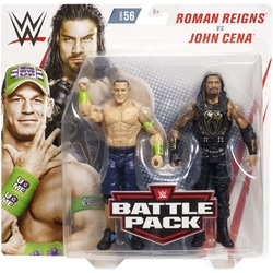 WWE-Coffret de 2 figurines de catch Roman Reigns et John Cena 15 cm