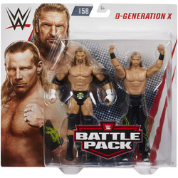 WWE-Coffret de 2 figurines de catch D-Generation X 15 cm