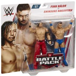 Coffret de 2 figurines de catch Finn Balor et Shinsuke Nakamura 15 cm - WWE