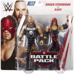 WWE-Coffret de 2 figurines de catch Braun Strowman et Kane 15 cm