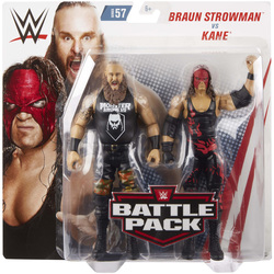 WWE-Coffret de 2 figurines de catch Braun Strowman et Kane 15 cm