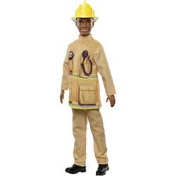 Barbie-Poupée Ken pompier