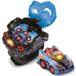 Voiture télécommandée et montre bleues - Turbo Force